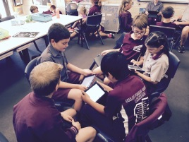Working collaboratively on devices